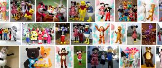 Аренда и прокат ростовых кукол